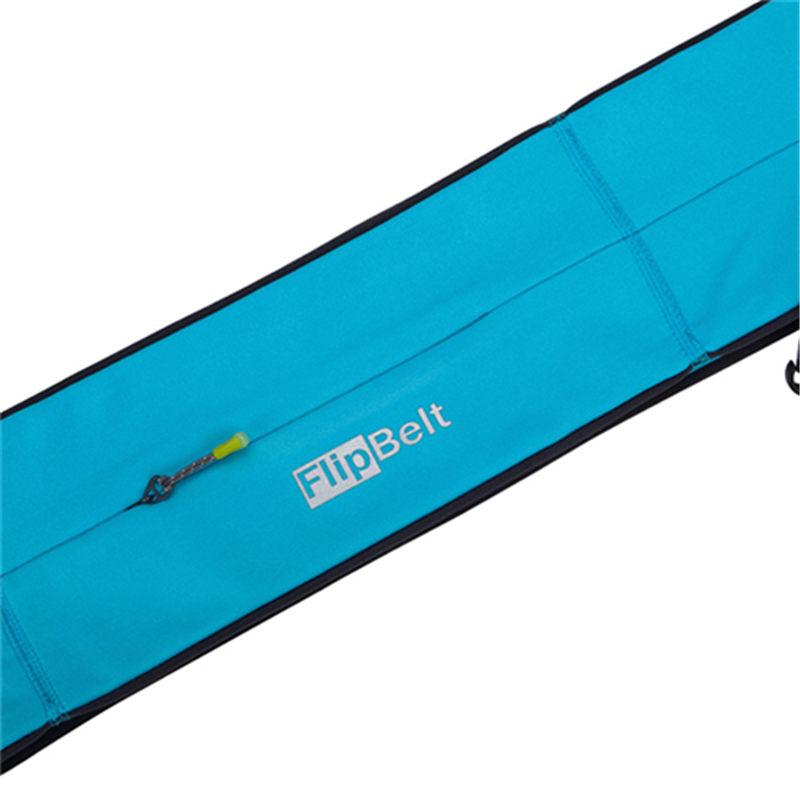 美国FlipBelt飞比特 男女运动储物腰包手机水壶护照储物腰带 旅行拉链款