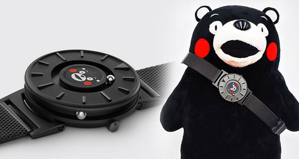 时间不一定要看的,熊本熊让你摸得到