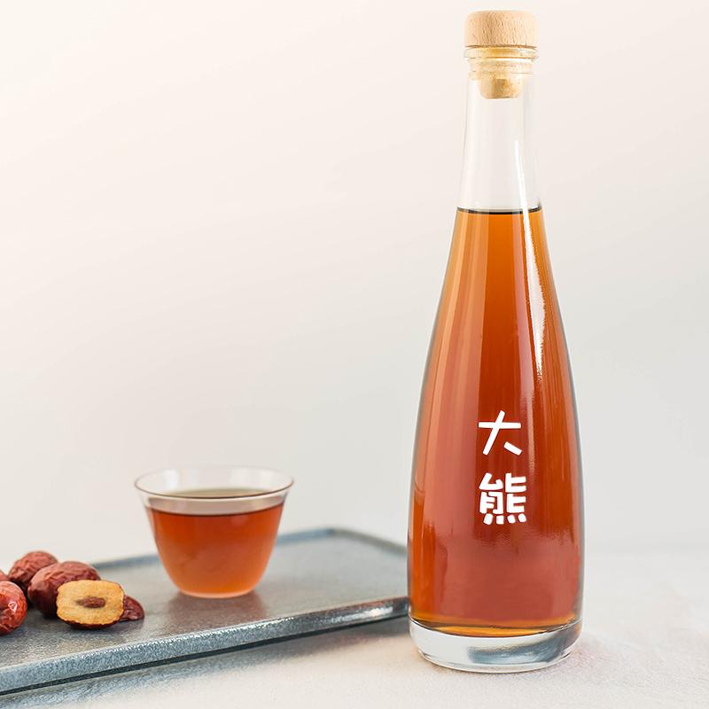 【女士酒】大熊红枣枸杞酒/水果微甜酒低度微醺糯米酒自酿