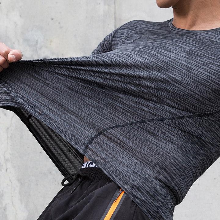 速干衣男户外运动短袖t恤大码吸汗透气宽松半袖女健身快干服夏季