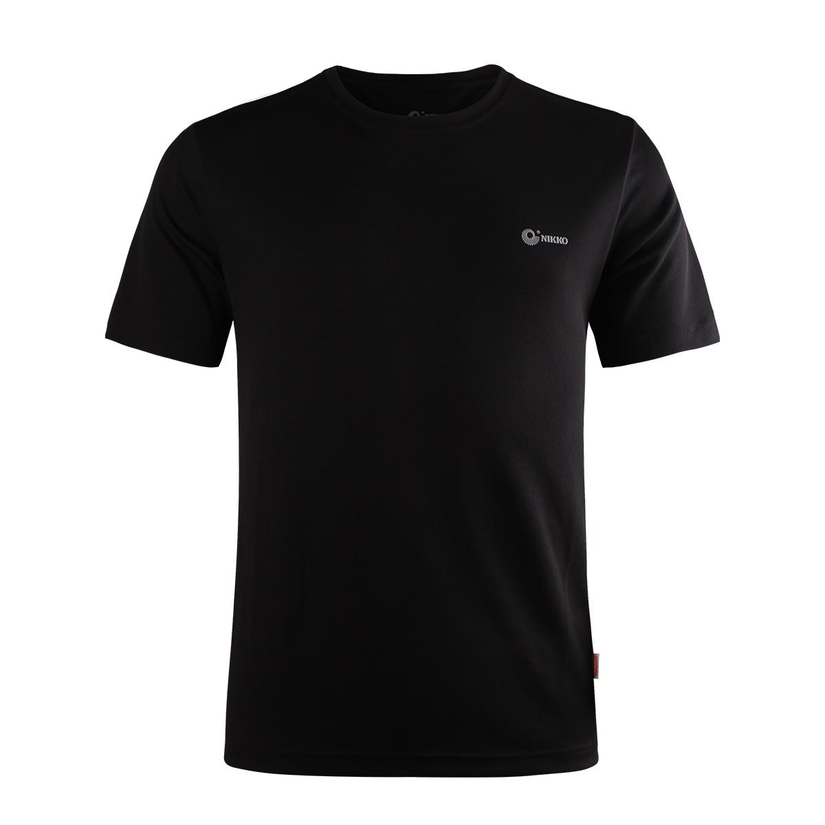 【三件99元】Nikko日高户外速干T恤快干衣男短袖女排汗运动T恤