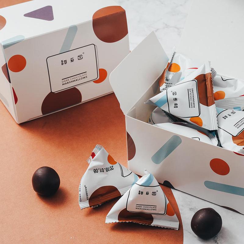 【甜牙齿云朵巧克力】空气感生日送女友礼盒装零食原创情人节