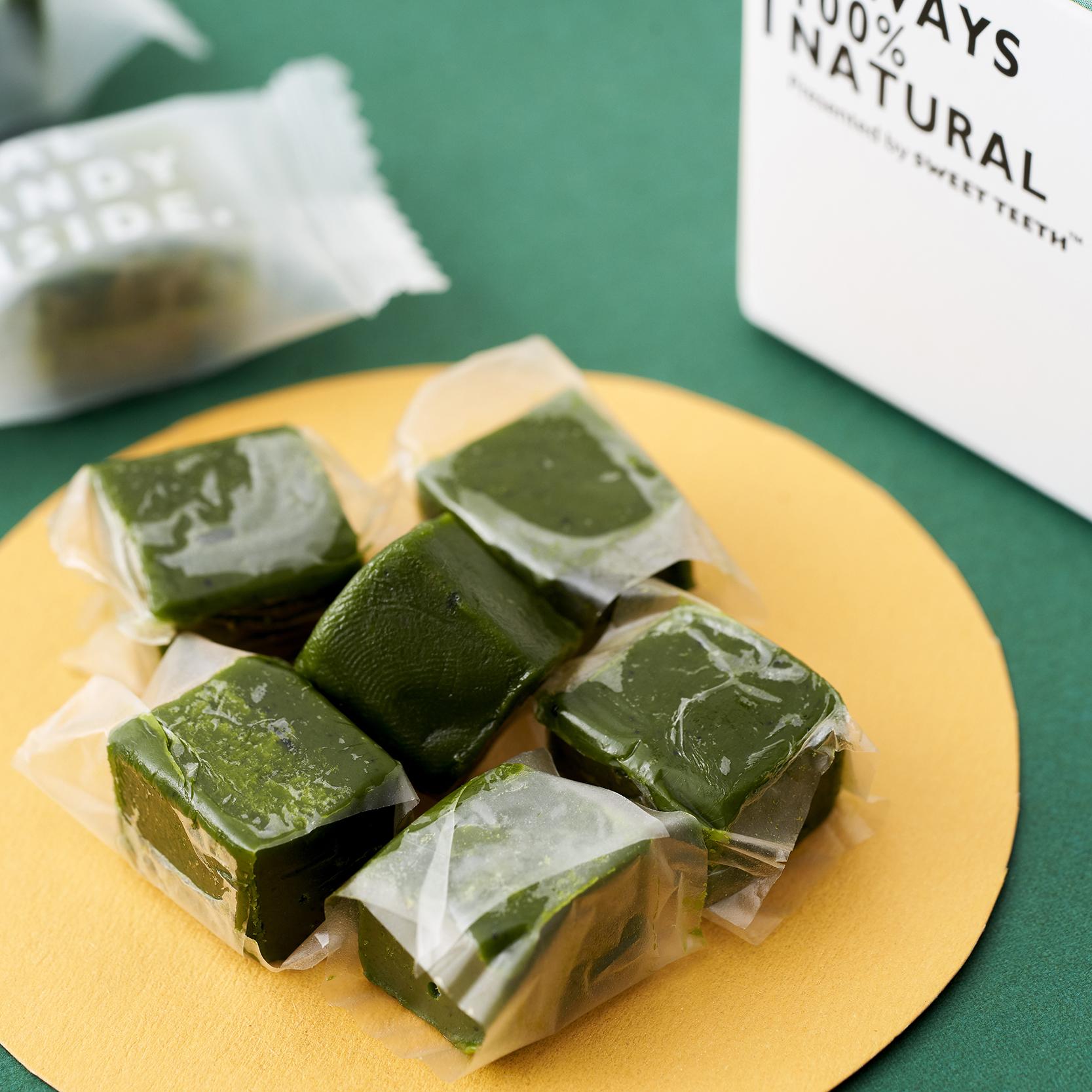 【清新抹茶】甜牙齿牛奶软糖 宅人食堂推荐冰淇淋零食节日送礼