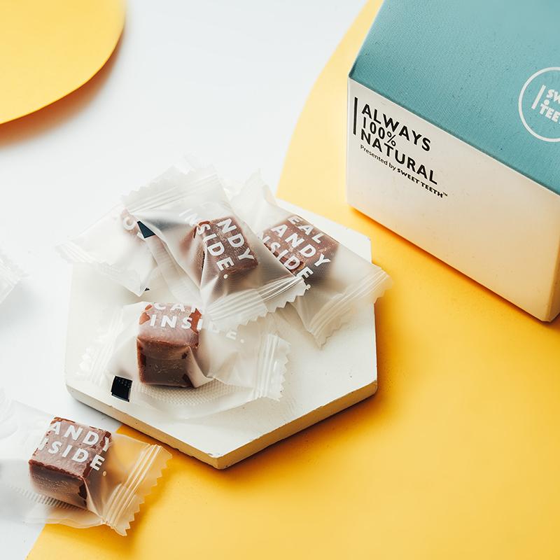 【海盐焦糖牛奶糖】甜牙齿硬糖高颜值糖果礼盒少女心零食女生奶糖
