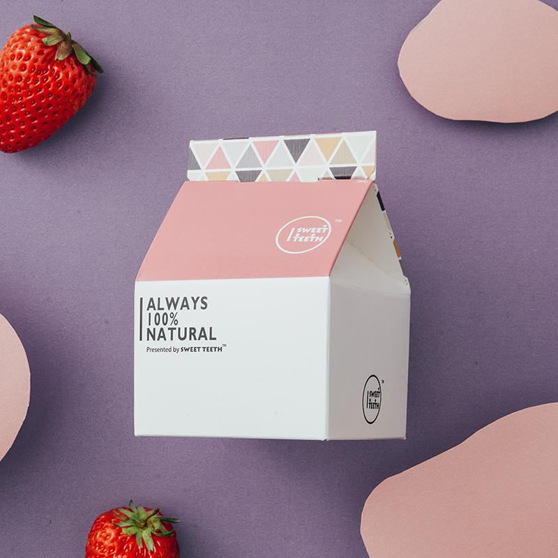 【初恋草莓牛奶糖】甜牙齿软糖高颜值糖果礼盒小零食女生送礼奶糖