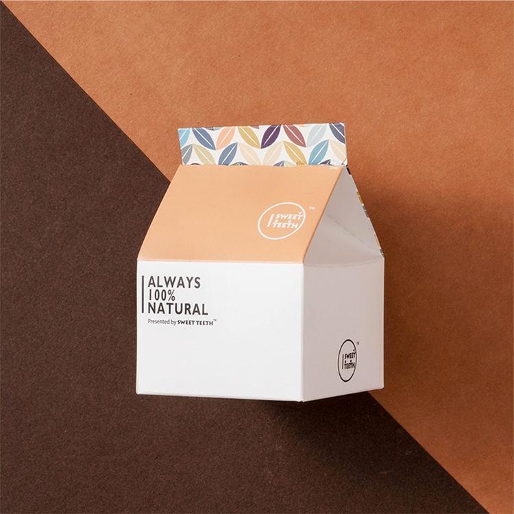 【伯爵茶牛奶硬糖】甜牙齿创意糖果少女心零食牛奶糖年货新年糖果