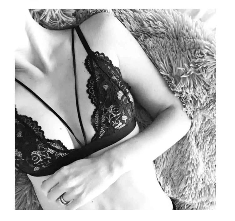 法式无钢圈内衣女士bralette三角杯胸罩蕾丝超薄舒适性感细带文胸