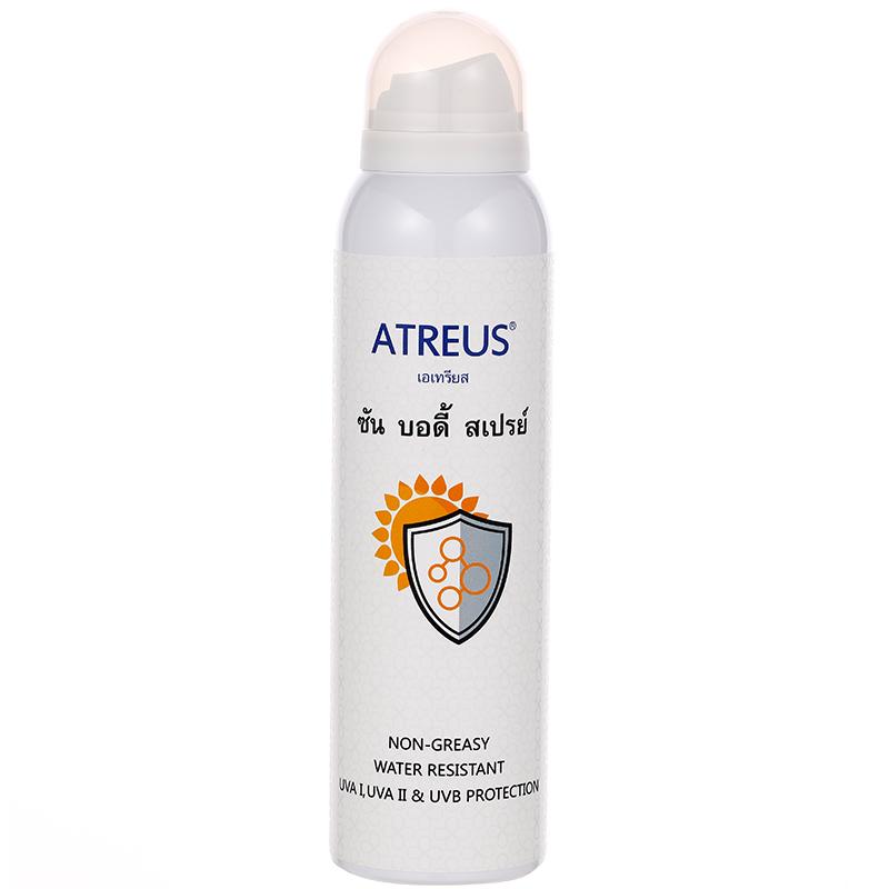 抖音同款泰国atreus牛奶防晒喷雾学生户外美白防水SPF50补水保湿