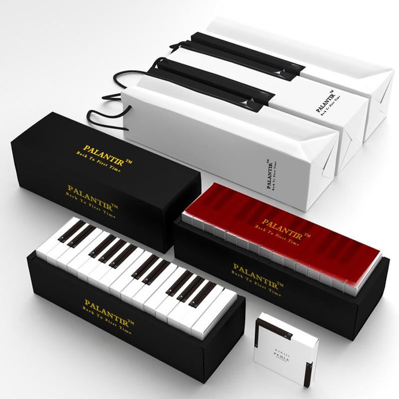钢琴键抹茶巧克力礼盒 送男女朋友