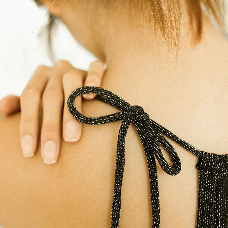 BOTHYOUNG性感三角杯前扣美背文胸交叉吊带胸罩细带bralette内衣