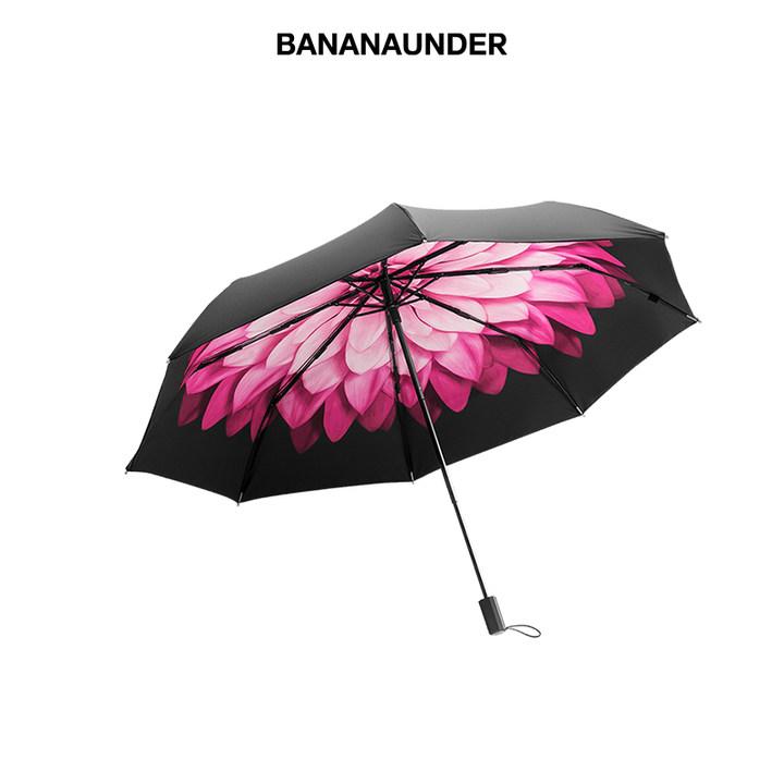 BANANAUNDER蕉下 莲町防晒小黑伞