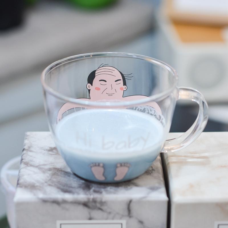 创意泡澡玻璃杯