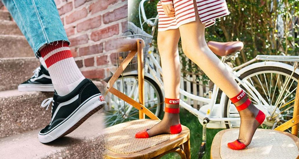 不用买新鞋,一双玻璃丝短袜就能熬过夏季!