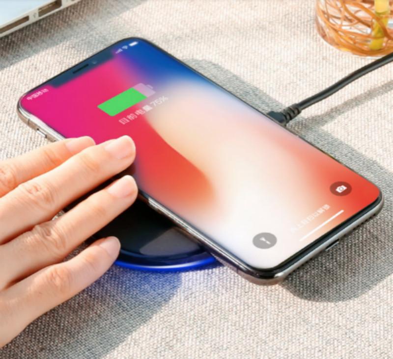 锐舞iPhoneX无线充电器苹果8手机iPhone8Plus快充QI无限X专用8P八