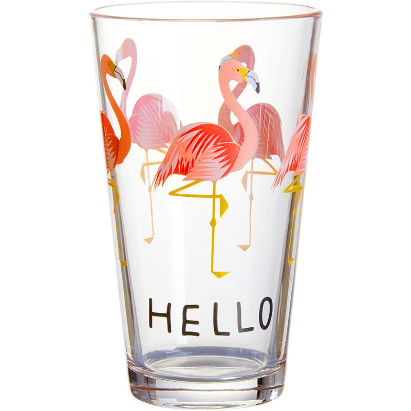 云纹山居 ins火烈鸟玻璃杯