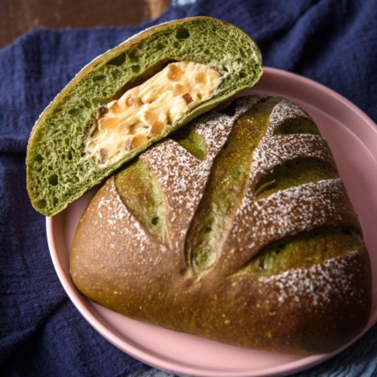 Meetown烤麻薯包糯米法式面包 巧克力抹茶香橙