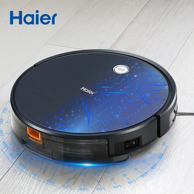 haier/海尔星耀S智能扫地机器人家用全自动超薄洗擦湿拖地一体机