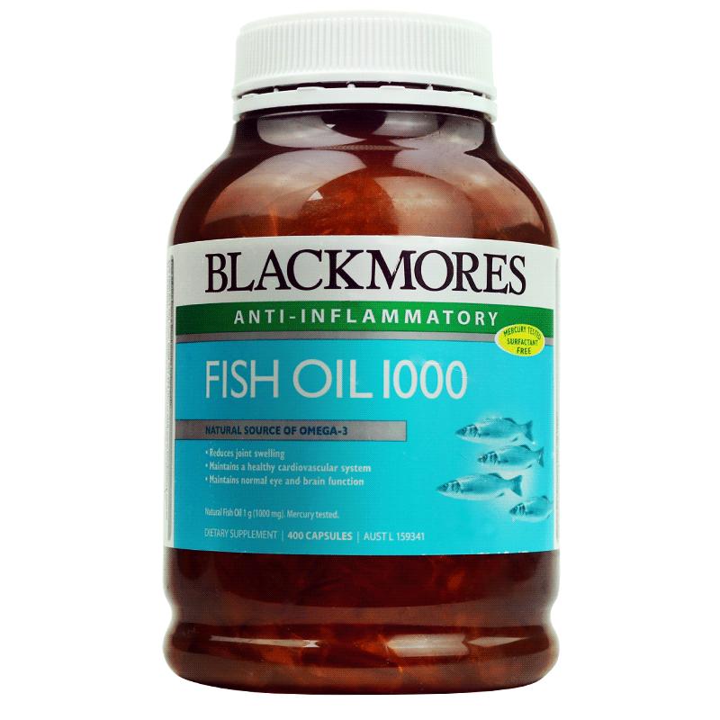 Blackmores 深海鱼油软胶囊400粒