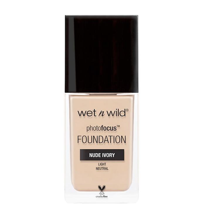美国wet n wild Photo Focus WNW维特娃粉底液湿又野控油