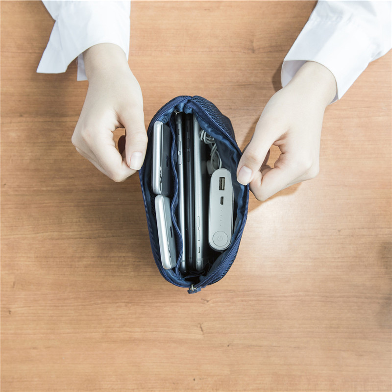 韩国便携式旅行收纳袋防震数码整理收纳包数据线充电宝硬盘随身袋