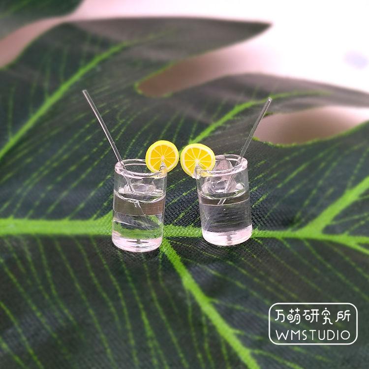 【耳环】来一杯柠檬水 夏天清新清凉 925银针 新增橙汁