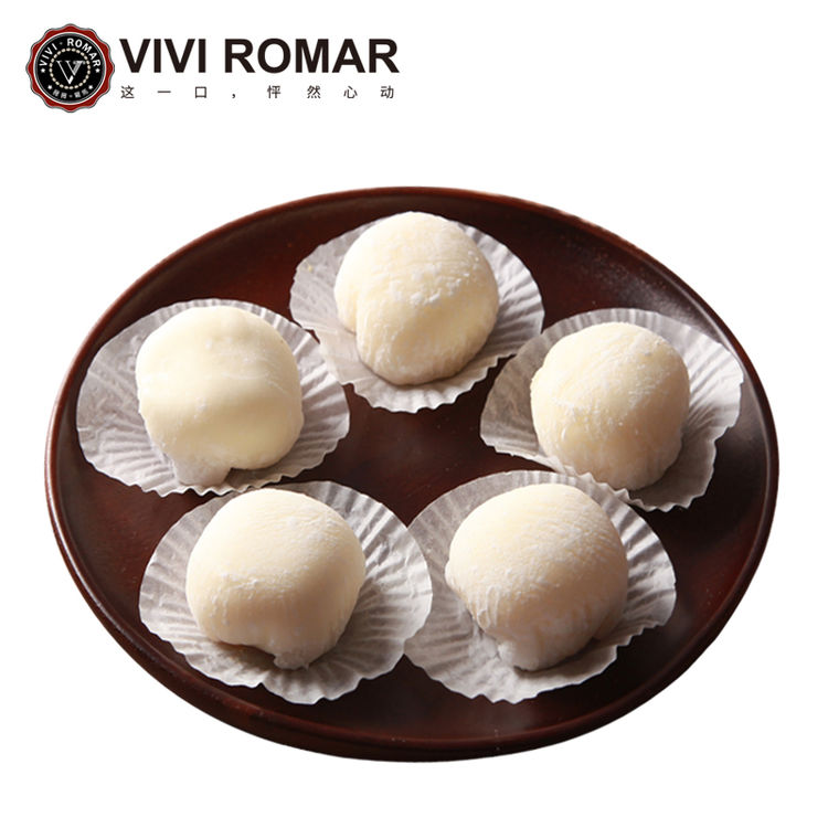 vivi手工雪媚娘日本和果子传统糕点2盒装8只装网红零食糯米糍大福