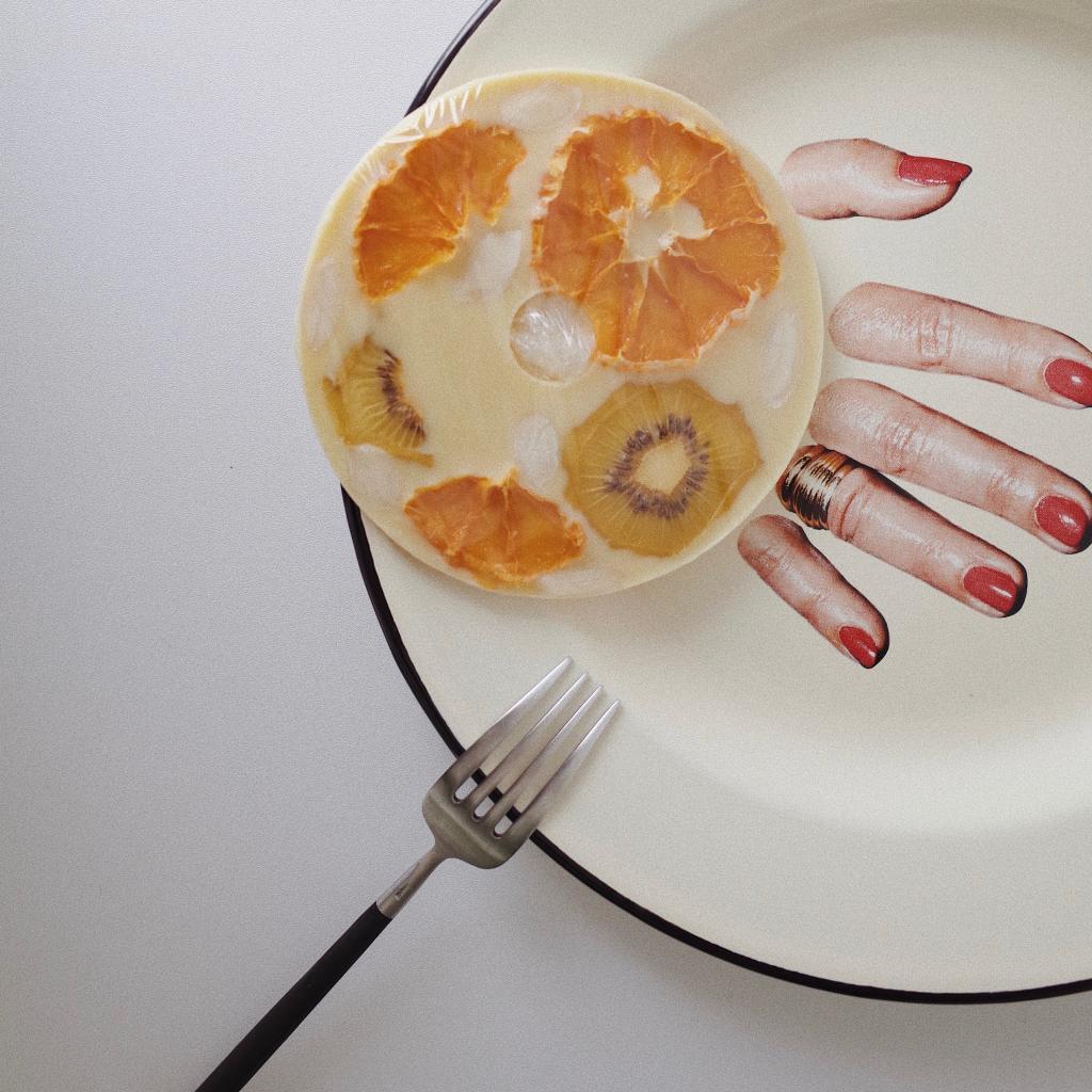 komistudio 血橙猕猴桃CD手工巧克力伴手礼生日礼物零食送女友
