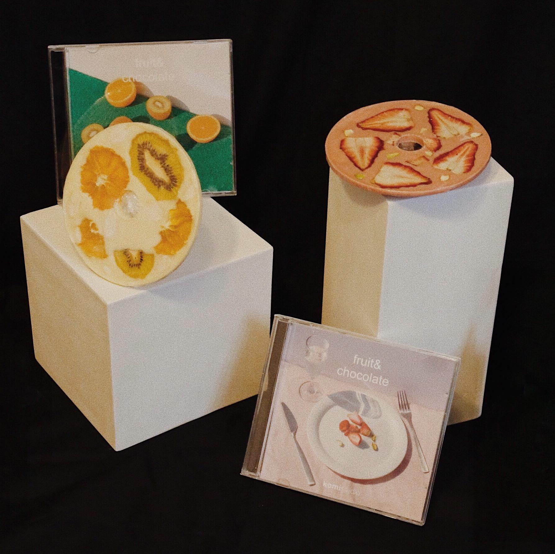 komistudio CD手工巧克力礼盒伴手礼生日礼物送女友包顺丰