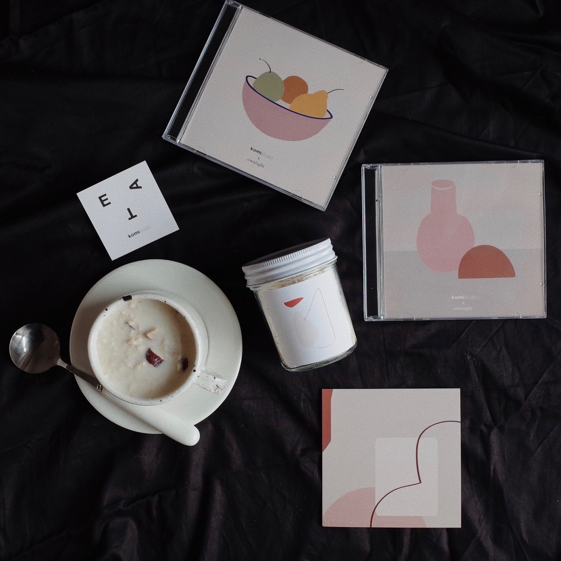 komistudio CD手工巧克力ownlight合作款礼盒顺丰包邮