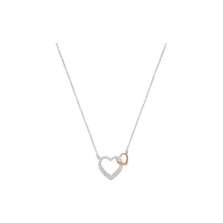 女友礼物心心相印项链,施华洛世奇618专场丨挚爱天鹅,一生守候