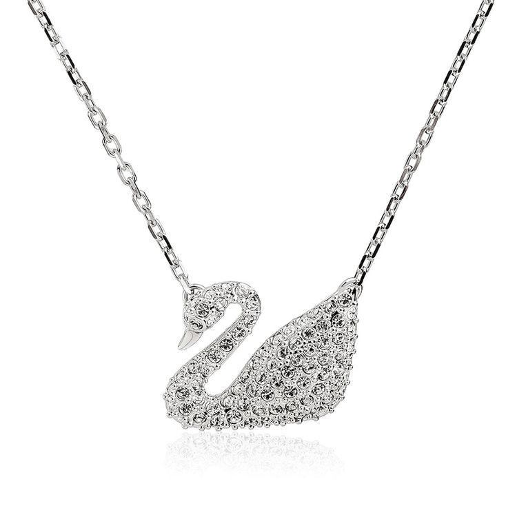 银天鹅项链,施华洛世奇618专场丨挚爱天鹅,一生守候