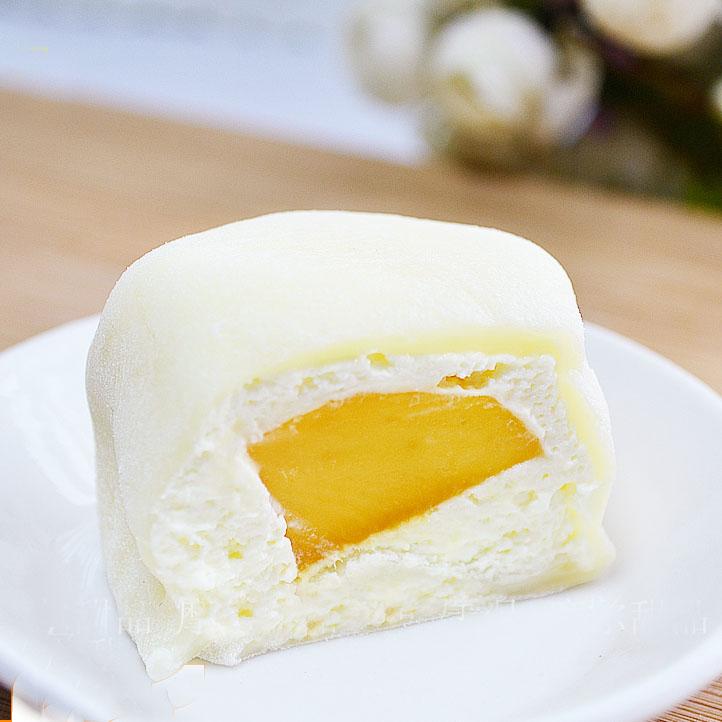 【满包邮】抹茶蜜豆手工日式大福雪媚娘点心雪胖子糯米糍和果子