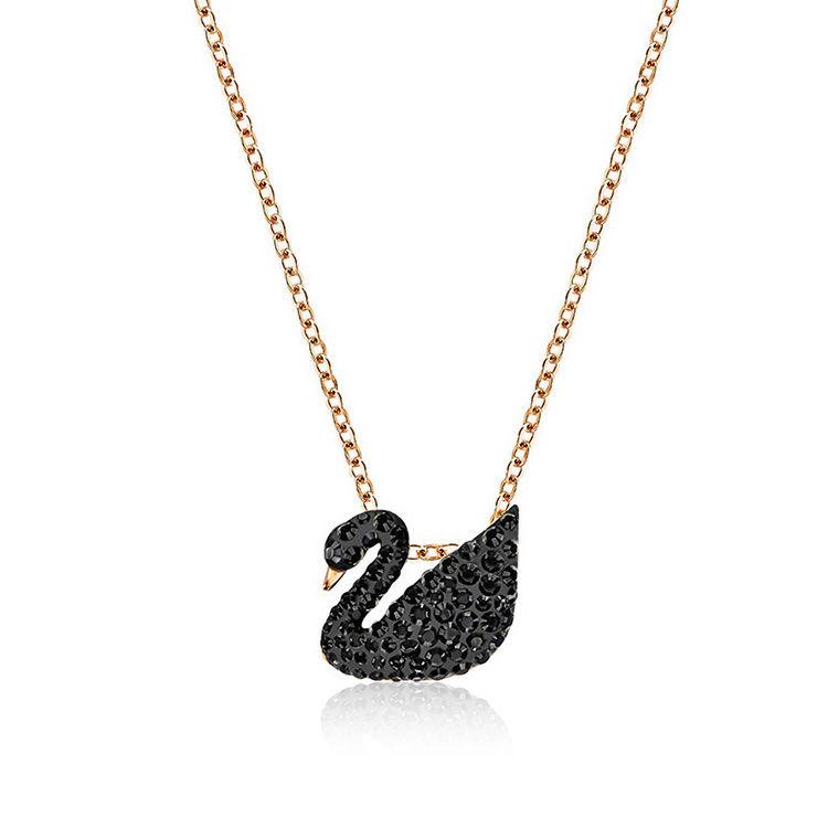 黑天鹅项链,施华洛世奇618专场丨挚爱天鹅,一生守候