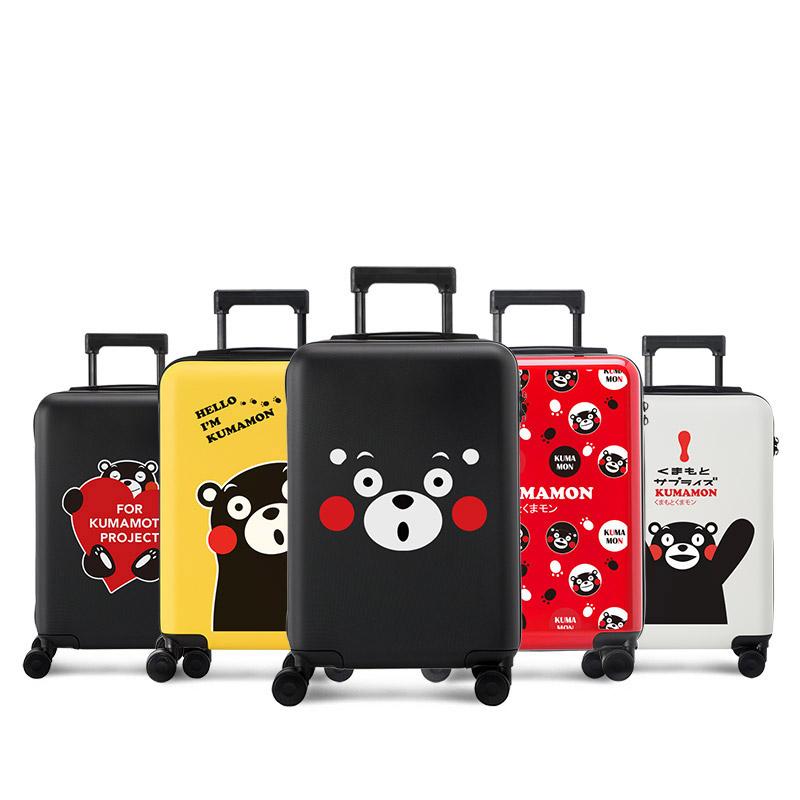 行李箱女小清新韩版大学生卡通拉杆箱20寸密码箱可爱登机箱旅行箱