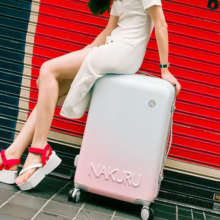 行李箱女万向轮拉杆箱韩版小清新24箱子20寸登机箱原创可爱旅行箱