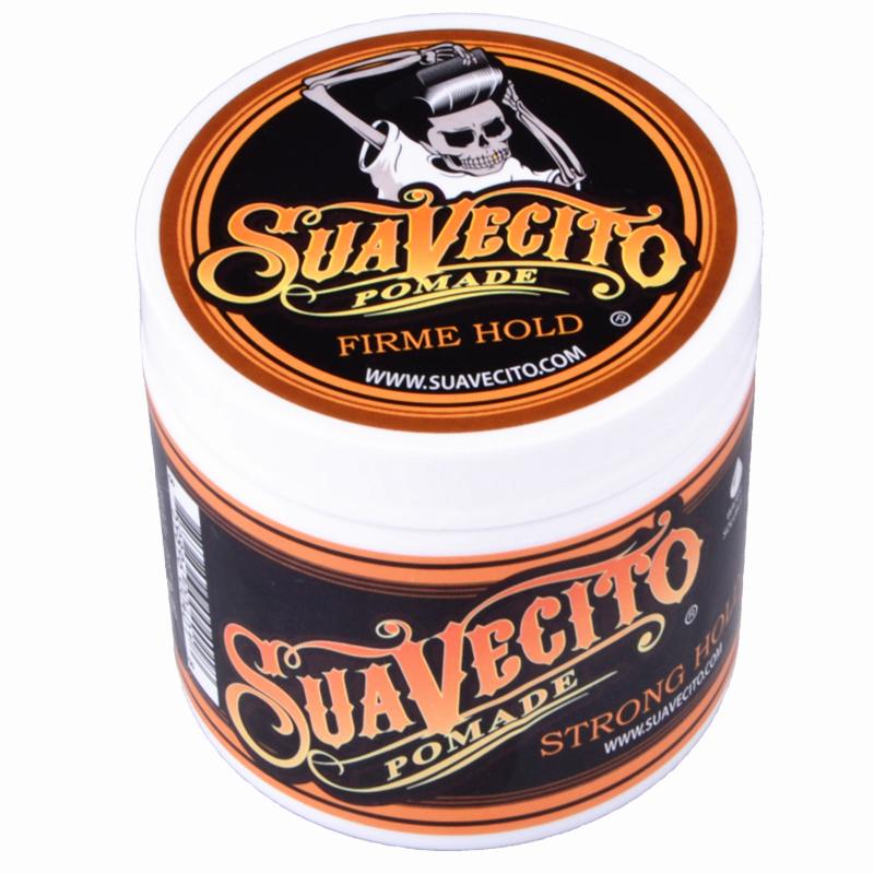 美国Suavecito Pomade骷髅复古发油强力定型油头神器背头保湿发蜡