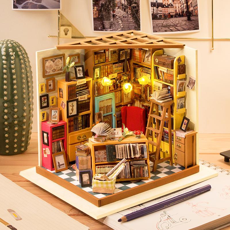 若态 DIY手工拼装创意小屋