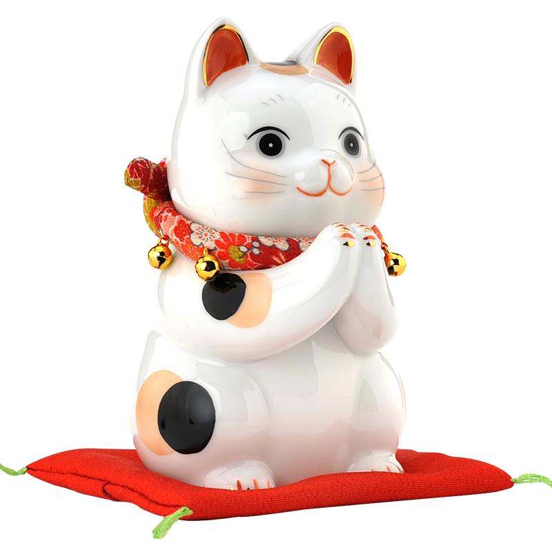 日本药师窑祈愿招财猫