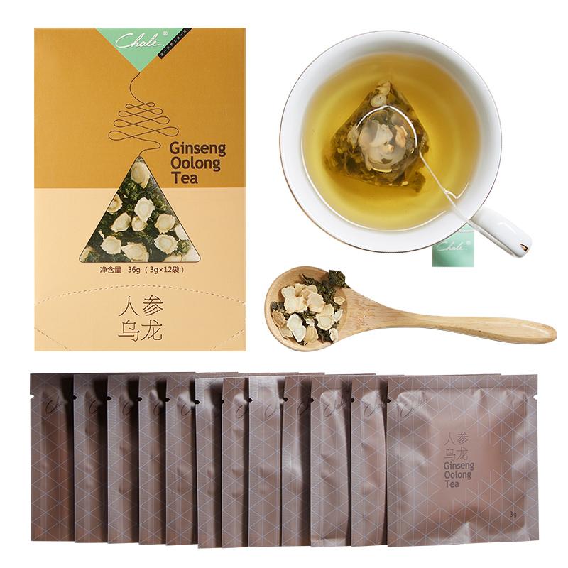 0香精0添加 :人参茶乌龙茶组合花草茶