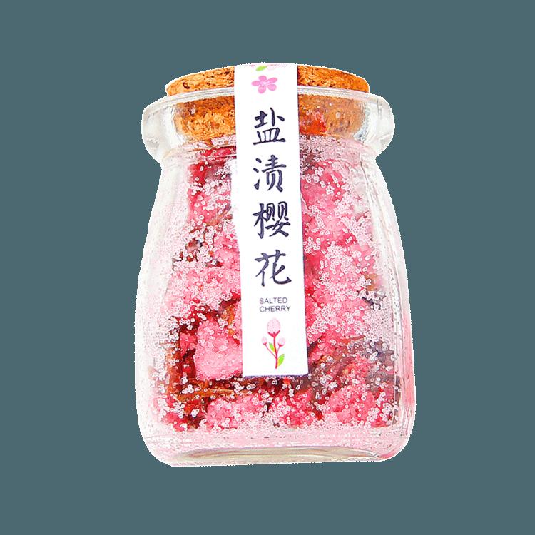 美美的樱花茶:京都八重樱盐渍樱花茶