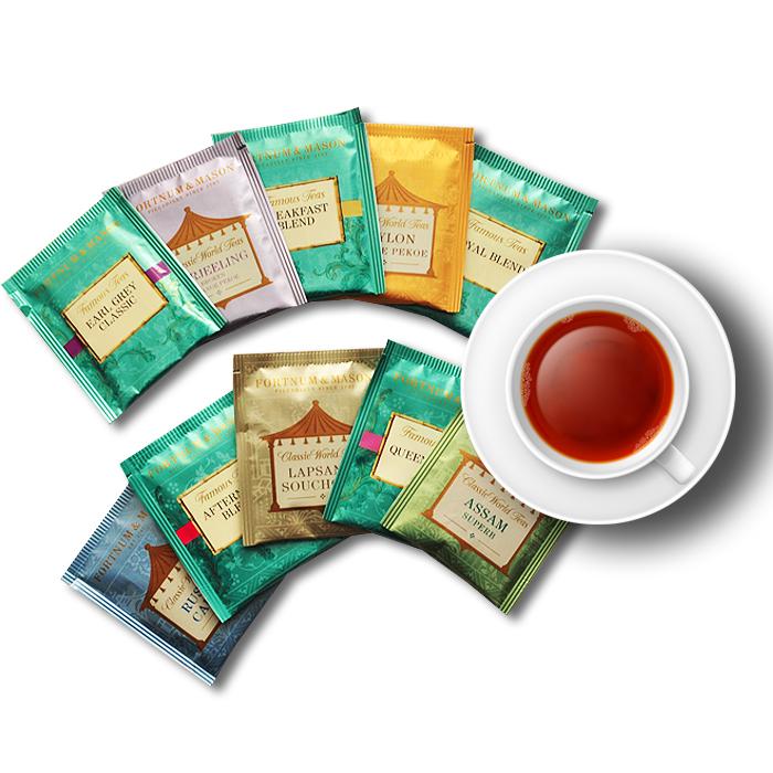 英国皇家御用茶: Fortnum & Mason 红茶试喝组10种(口味秒川宁)