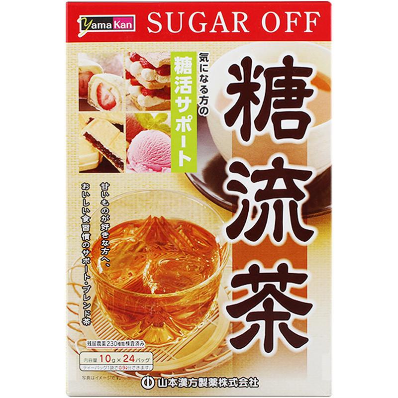多余糖份都流走:日本糖流茶包