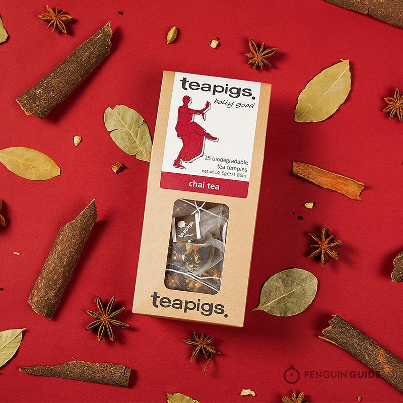 英国血统贝嫂新宠 :英国茶猪猪Teapigs印度拉茶