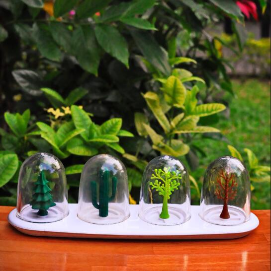 厨房的童话:泰国进口Qualy 创意餐桌调料瓶盒