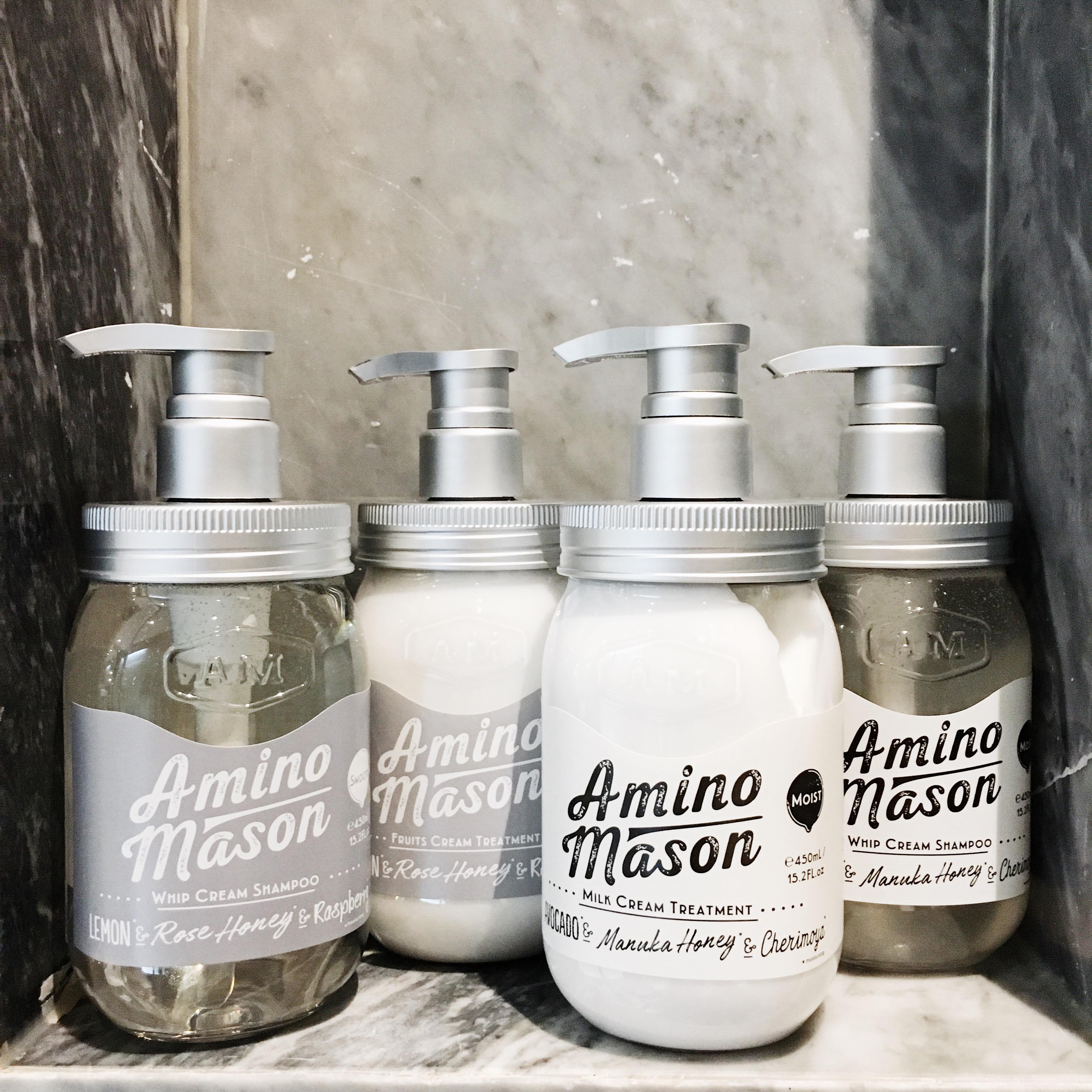 Amino mason牛油果氨基酸洗护套装