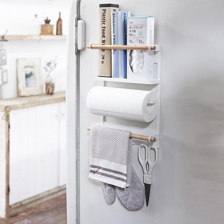 冰箱侧面置物架