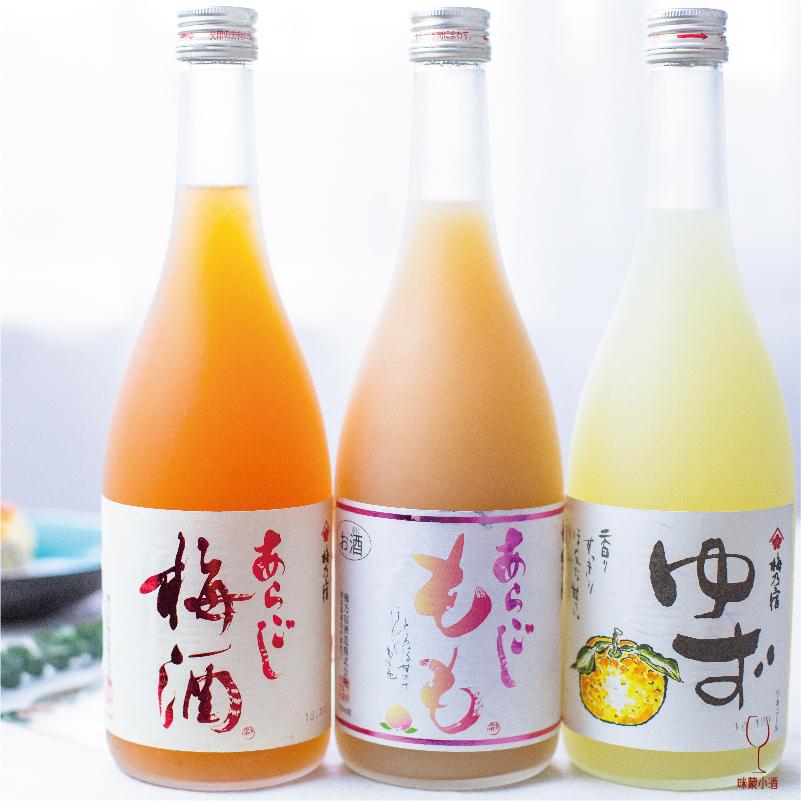 梅乃宿 柚子酒/梅子酒/桃子酒