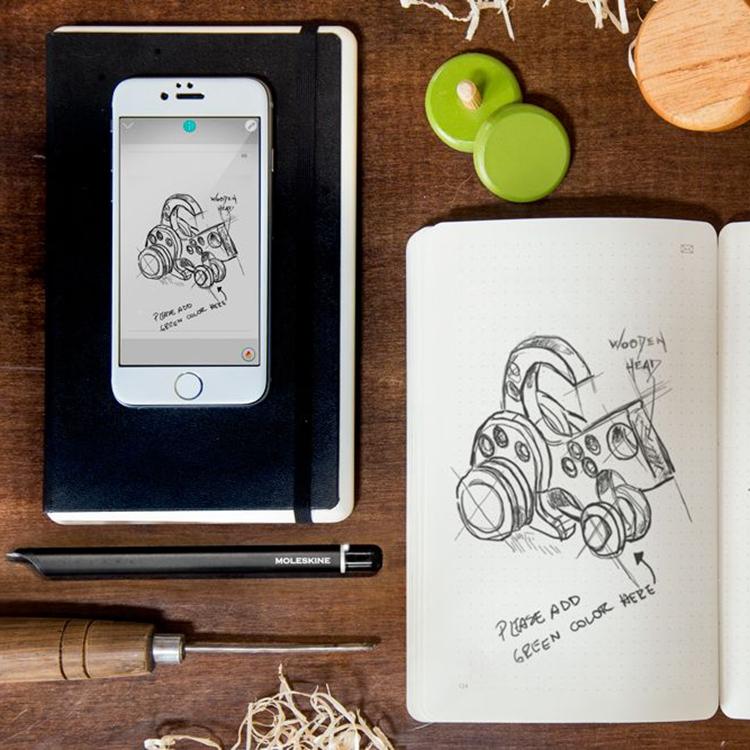 Moleskine智能书写套装感应电子笔
