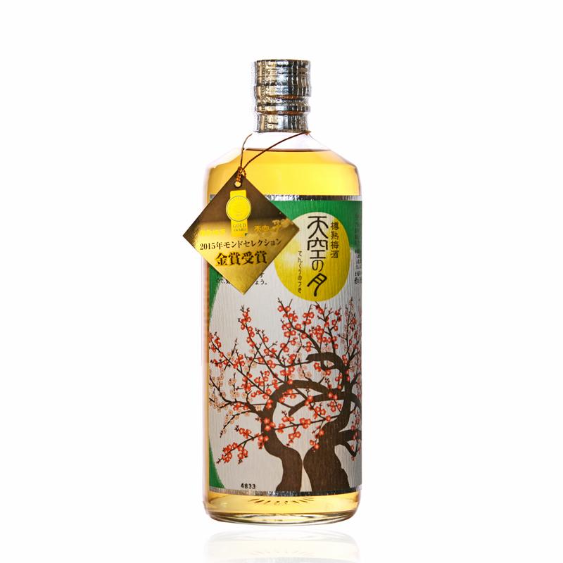 金奖受赏!老松酒造天空之月梅酒 日本原瓶进口