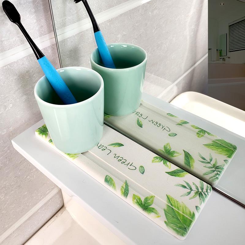 硅藻泥吸水肥皂垫台